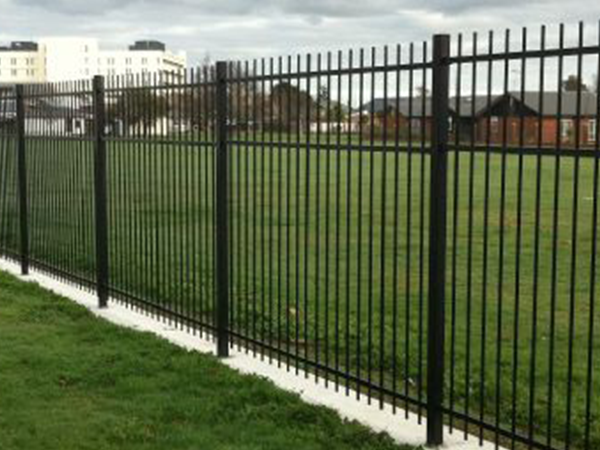 Chief steel security fence