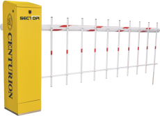 TRAPEX PEDESTRIAN ACCESS CONTROL FOR TRAFFIC BARRIERS